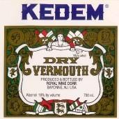 Kedem Vermouth Dry 750ml - Case of 12